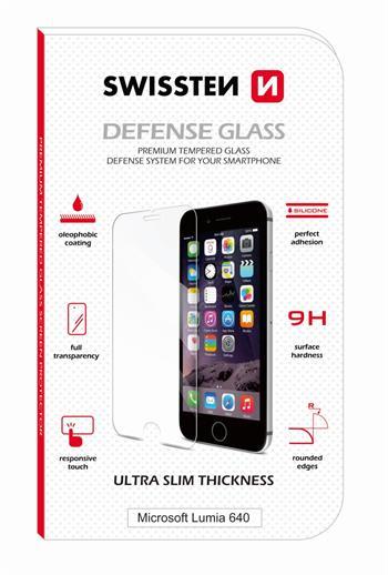 SWISSTEN Tvrzené sklo Microsoft Lumia 640 RE 2,5D