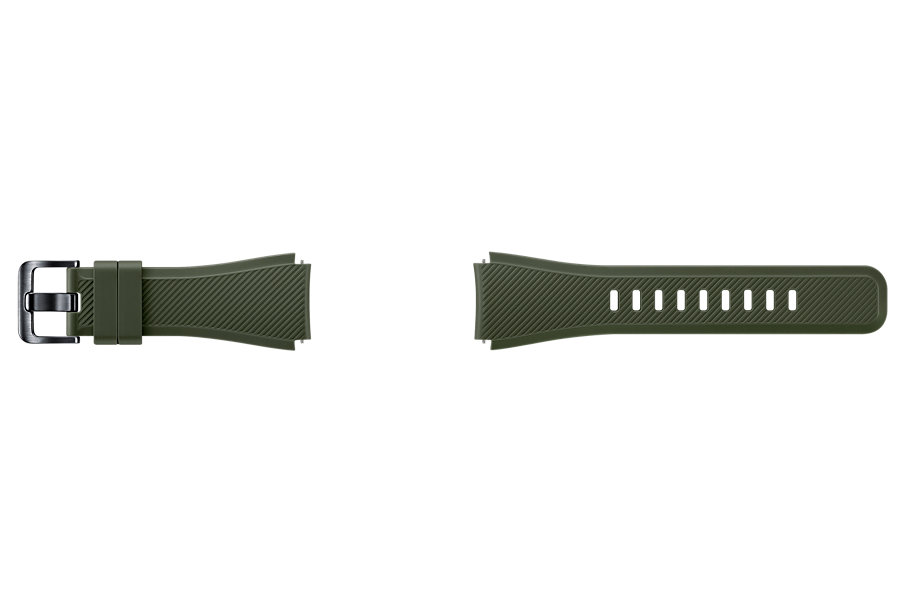 Samsung výměnný pásek silikon Gear S3, Khaki
