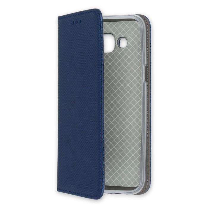 Smart Magnet flipové pouzdro Huawei Y6 II tmavě modré