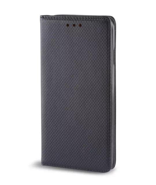 Smart Magnet pouzdro flip Huawei Y6 II Compact černé