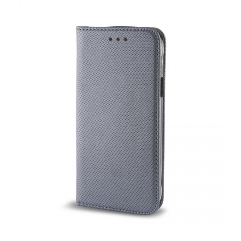 Smart Magnet flipové pouzdro Huawei Y6 II steel