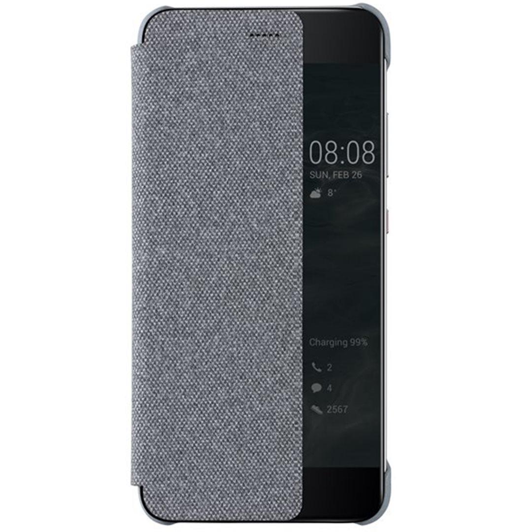 Huawei Original S-View flipové pouzdro Huawei P10 Plus Light Grey