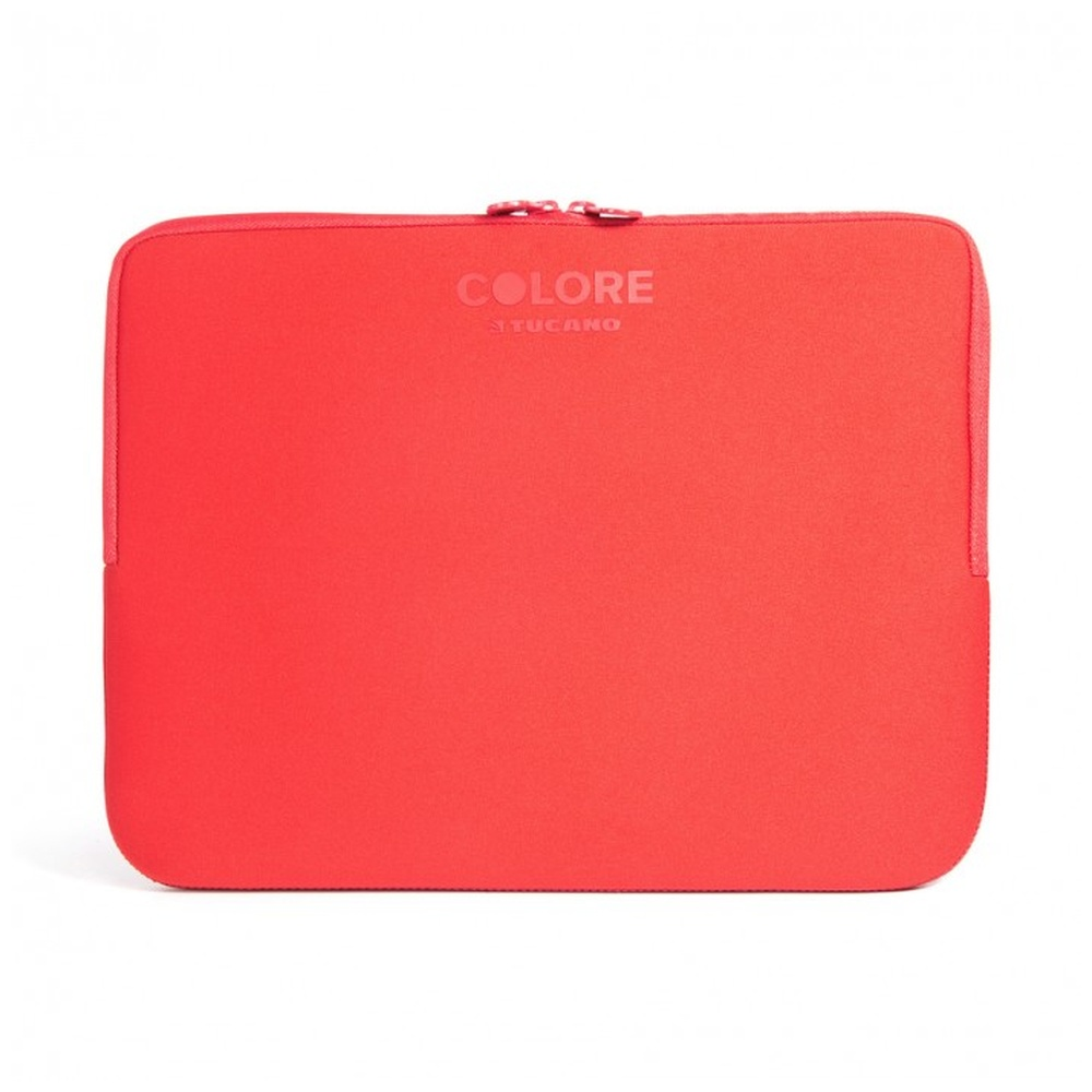 "TUCANO COLORE Neoprenové pouzdro notebooky a ultrabooky 15.6"" Anti-Slip Systém® červené"