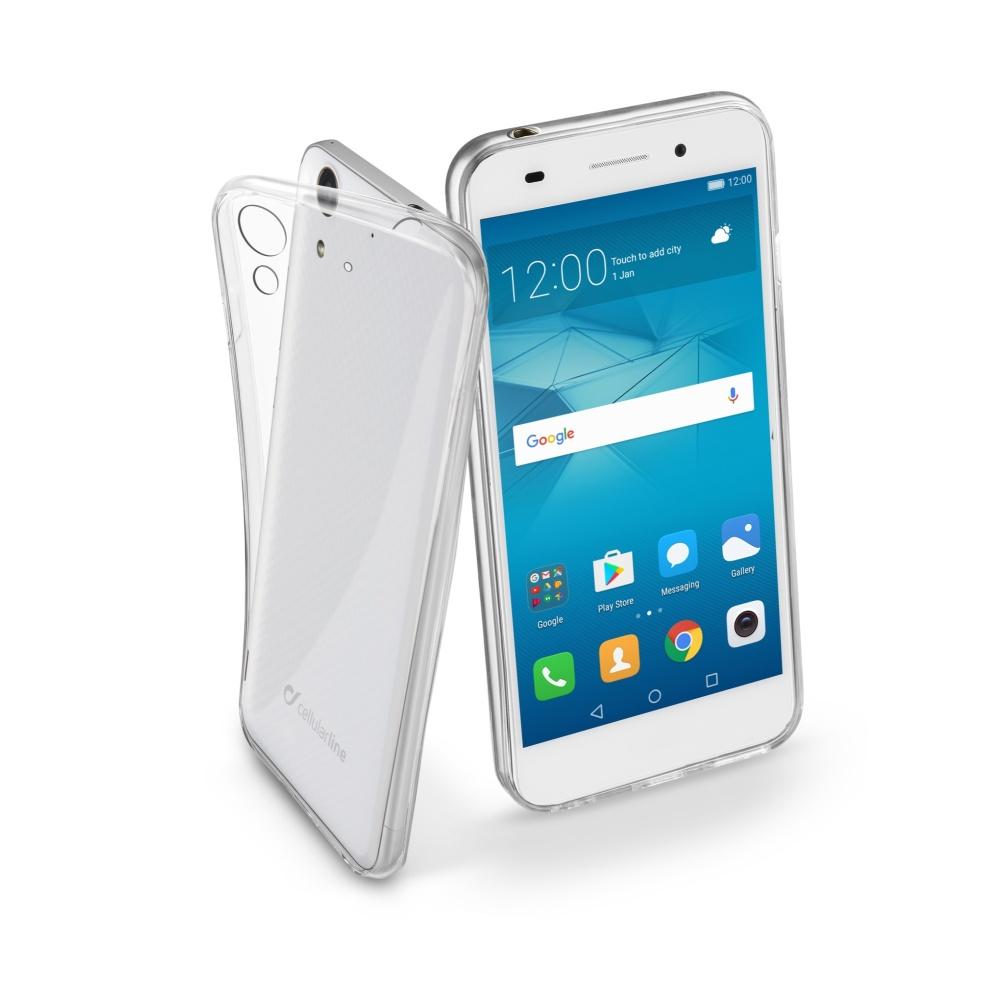 CellularLine Fine silikonové pouzdro Huawei Y6 II bezbarvé