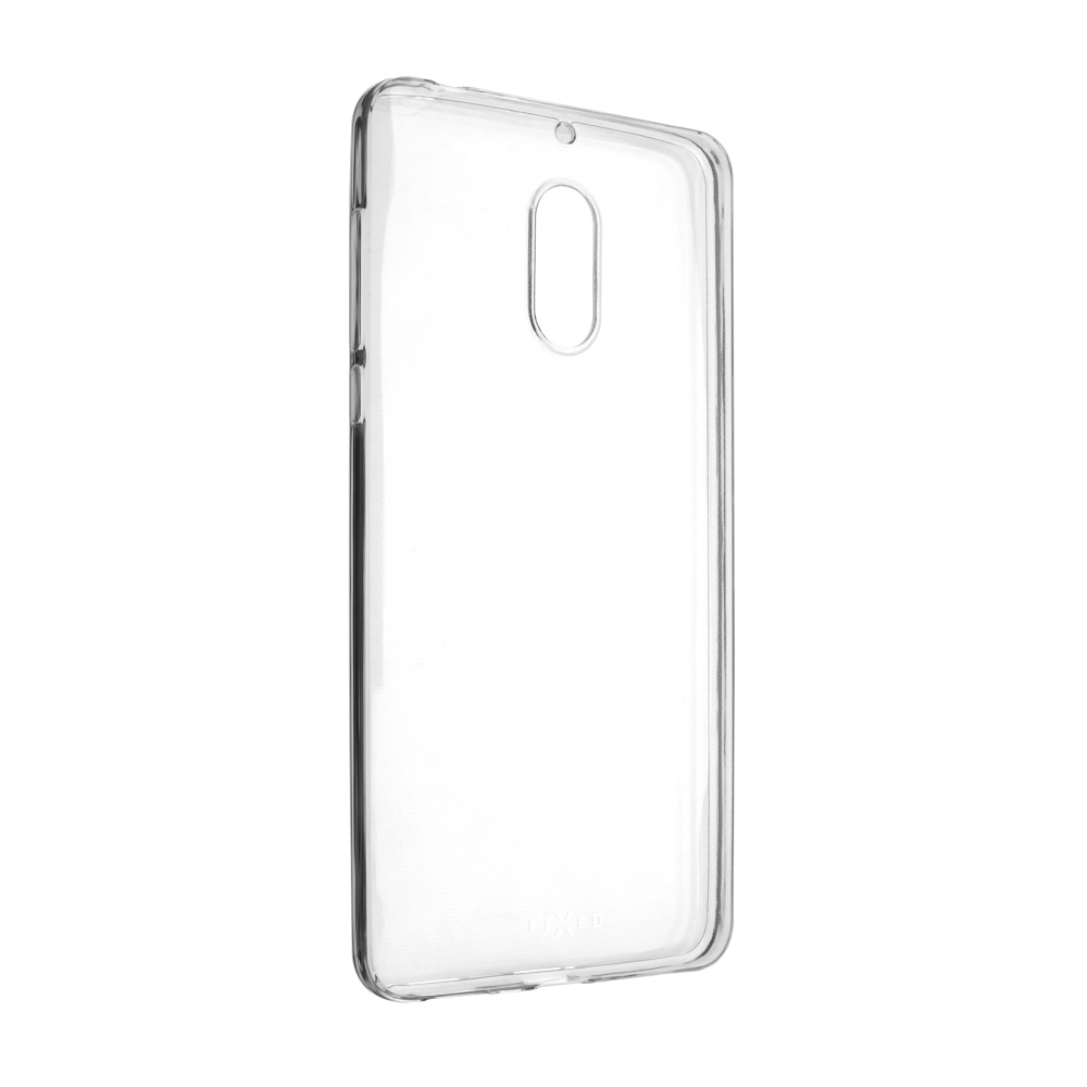 FIXED Skin ultratenké silikonové pouzdro pro Nokia 6, čiré