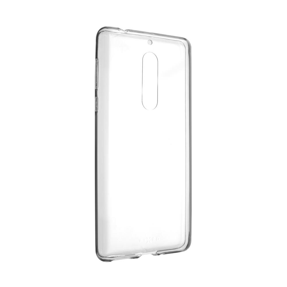 Ultratenké silikonové pouzdro FIXED Skin pro Nokia 5, čiré