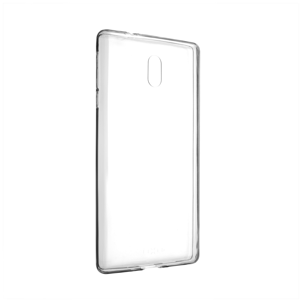 Ultratenké silikonové pouzdro FIXED Skin pro Nokia 3, čiré