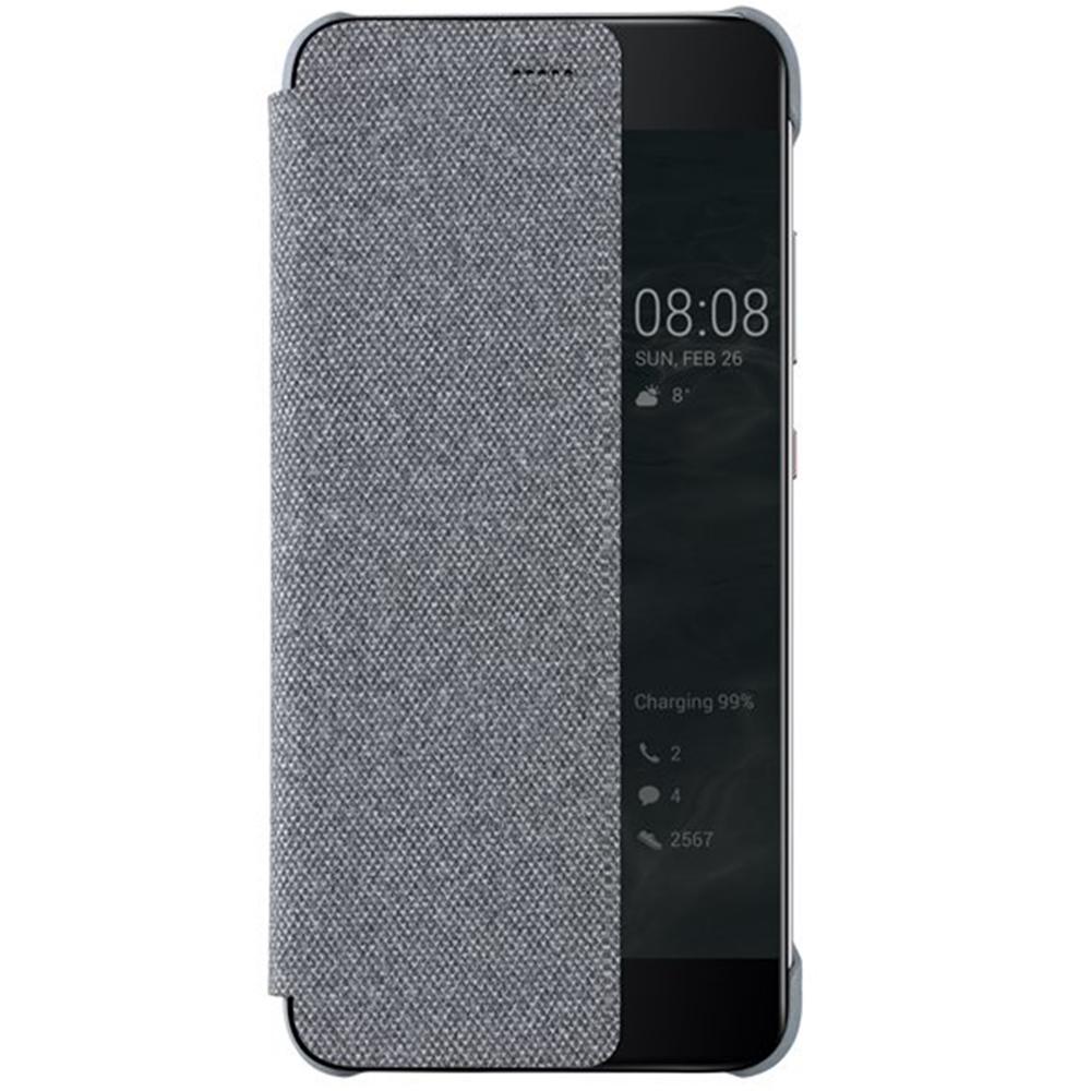 Huawei Original S-View flipové pouzdro Huawei P10 Light Grey