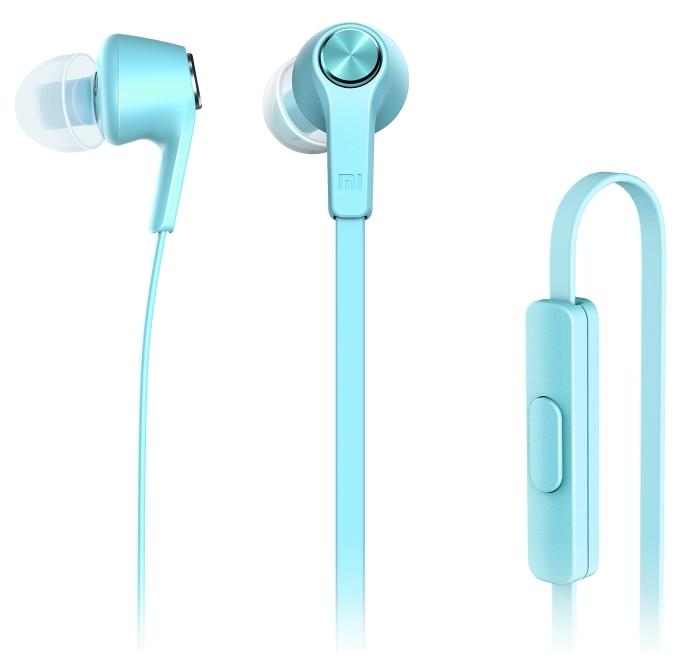 Stereo Headset Xiaomi Mi In ZBW4358TY 3,5mm jack modrý EU Blister