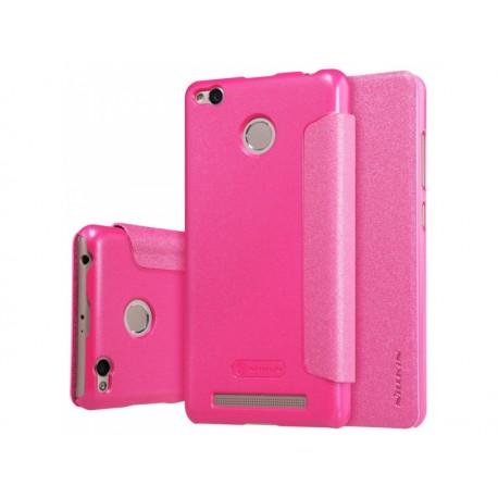Nillkin Sparkle flipové pouzdro Xiaomi Redmi 3 Pro růžové