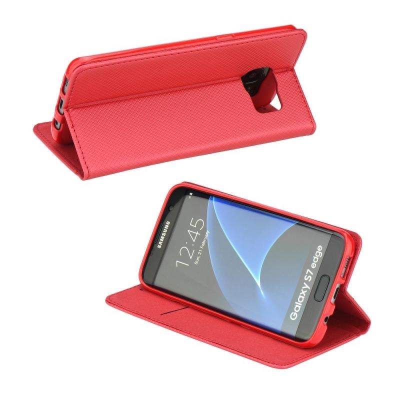 Smart Magnet flipové pouzdro Samsung Galaxy A5 2017 červené