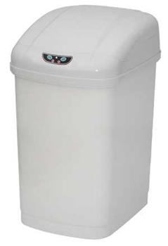 Economic bezdotykový odpadkový koš 18 L, plastový, senzorový, hranatý