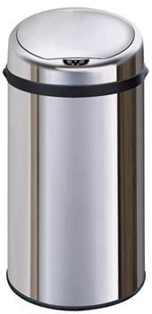 Exclusive bezdotykový odpadkový koš 30 L, nerezový, senzorový, kulatý