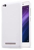 Zadní kryt Nillkin Super Frosted pro Xiaomi Redmi 4A, bílá + fólie na LCD
