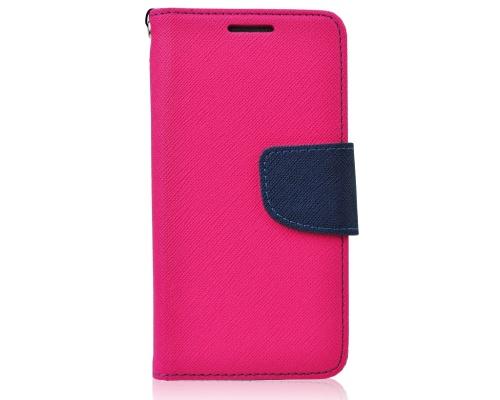 Flipové pouzdro Fancy Diary Samsung Galaxy J5 2017, růžovo-modrá