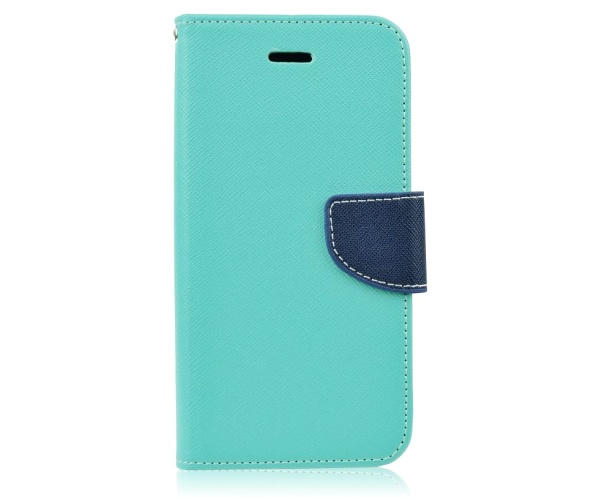 Fancy Diary flipové pouzdro Samsung Galaxy J5 2017 mint/navy