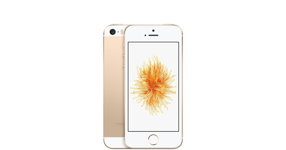 Mobilní telefon Apple iPhone SE 128GB Gold