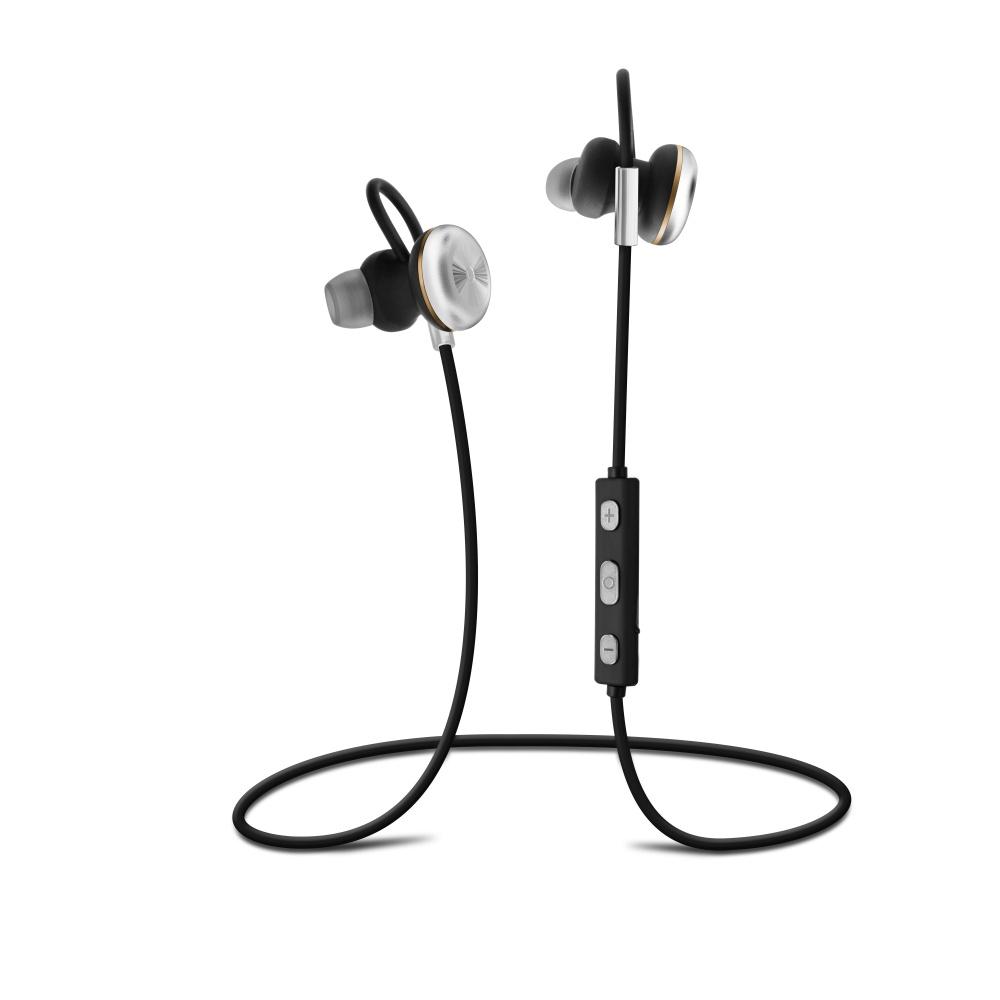Stereo Bluetooth sluchátka FIXED Steel A2DP silver