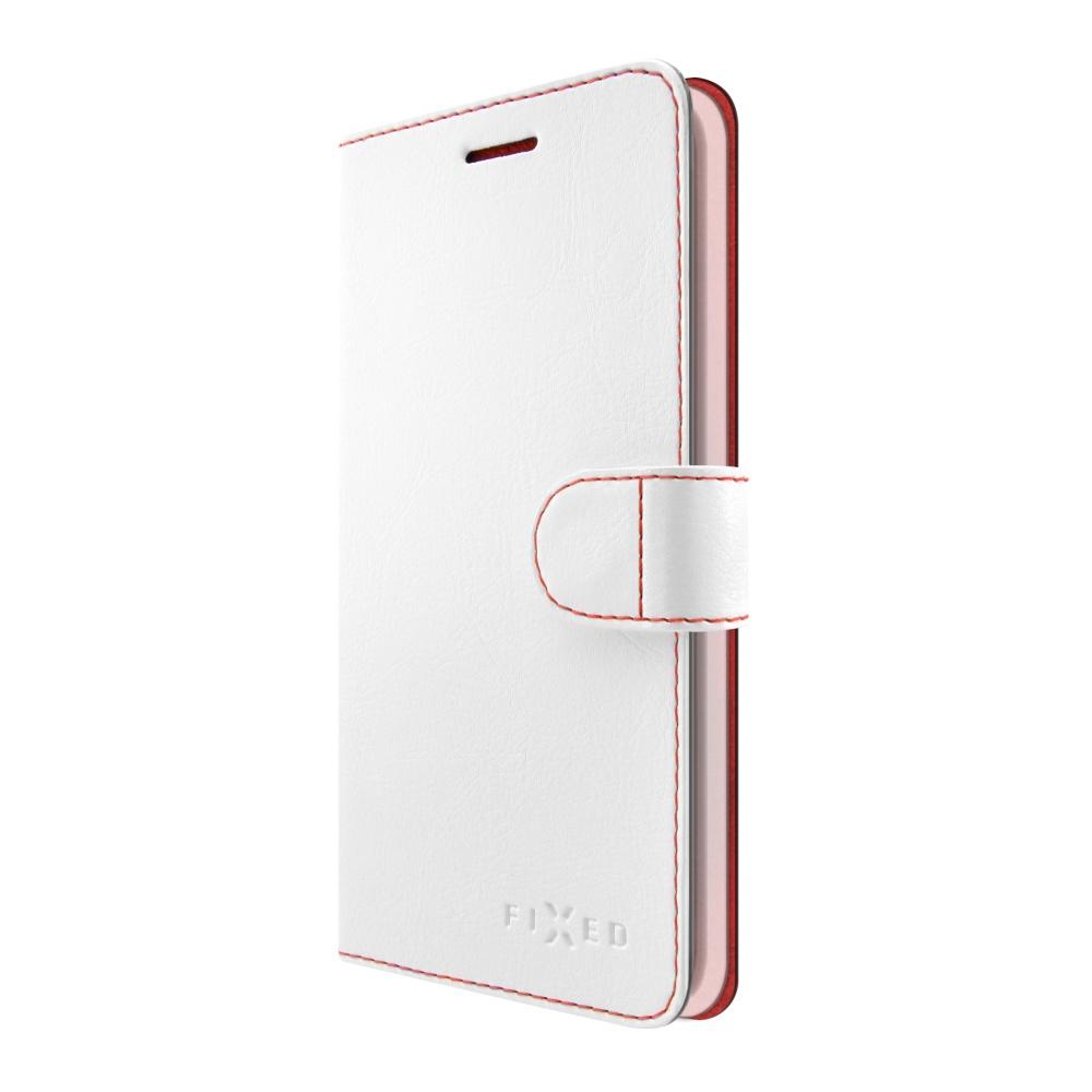 FIXED FIT flipové pouzdro pro Huawei Y6 2017 bílé