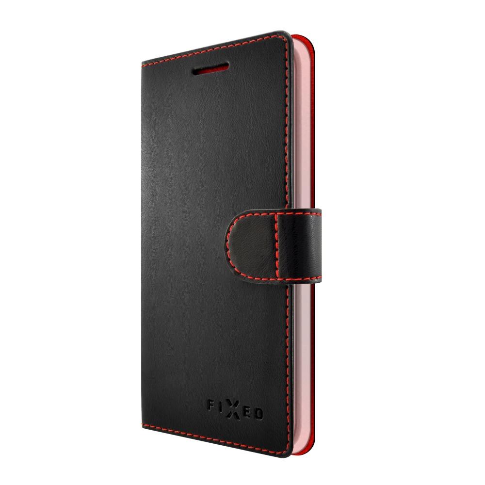 FIXED FIT flipové pouzdro pro Huawei Y6 2017 black