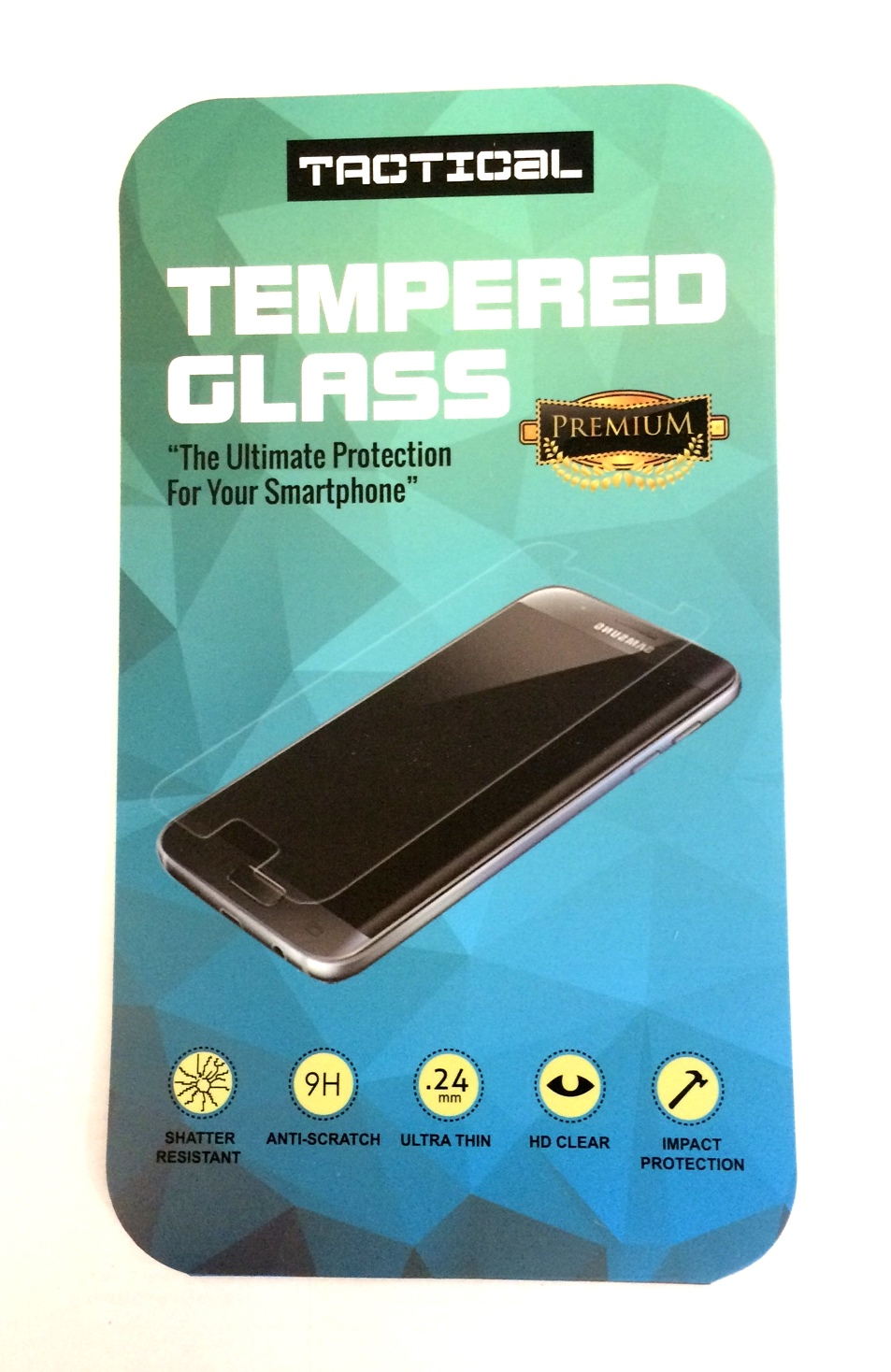 Tvrzené Sklo Tactical 3D pro iPhone 6/6S Plus, Black