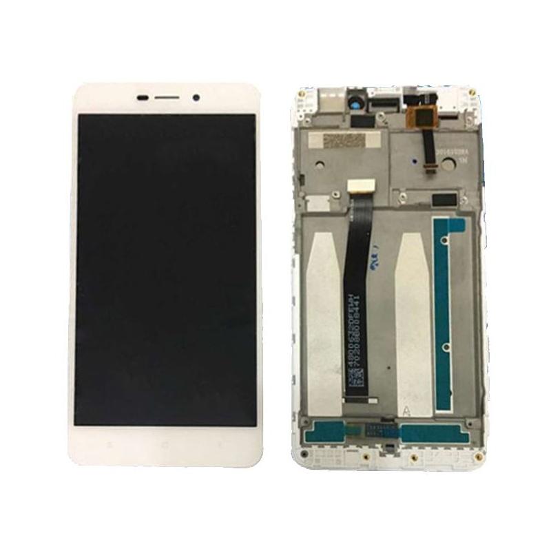 LCD + dotyk + rámeček pro Xiaomi Redmi 4A, white OEM