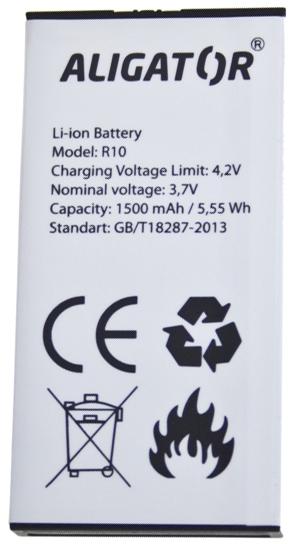 Aligator baterie Li-Ion 1500 mAh