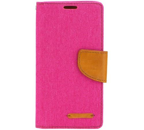 Canvas Diary flipové pouzdro Huawei Y635 pink