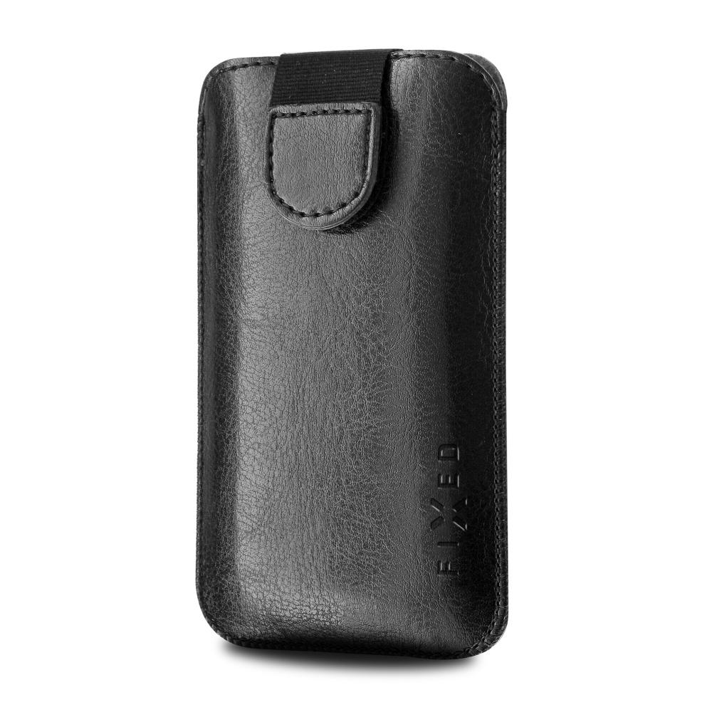 FIXED Soft Slim pouzdro velikost S black