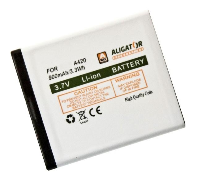 Baterie Aligator Li-Ion 1350 mAh pro Aligator 600/A610/A620/A670/A430/A680