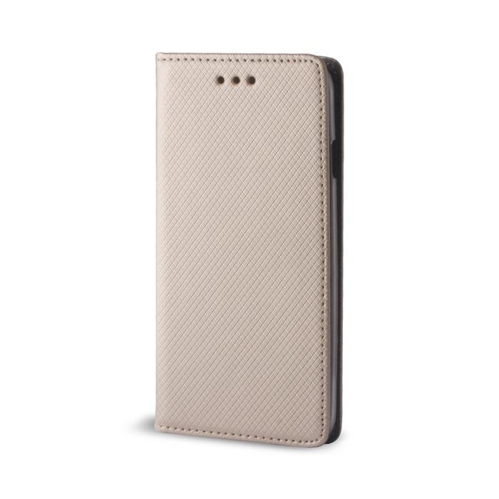 Smart Magnet flipové pouzdro Huawei Y6 2017 gold