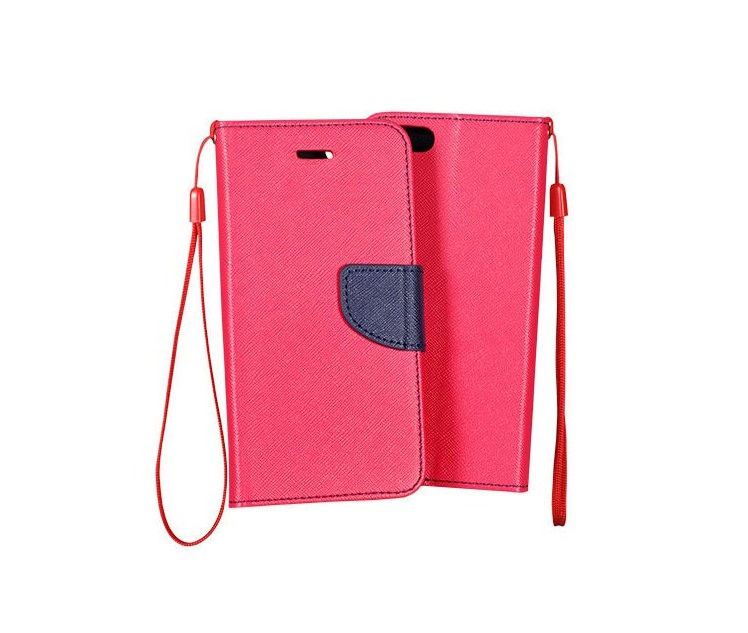 Fancy Diary flipové pouzdro Samsung Galaxy S6 Edge+ pink/navy