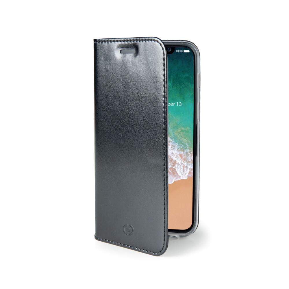 CELLY Air Ultra tenké flipové pouzdro Apple iPhone X black