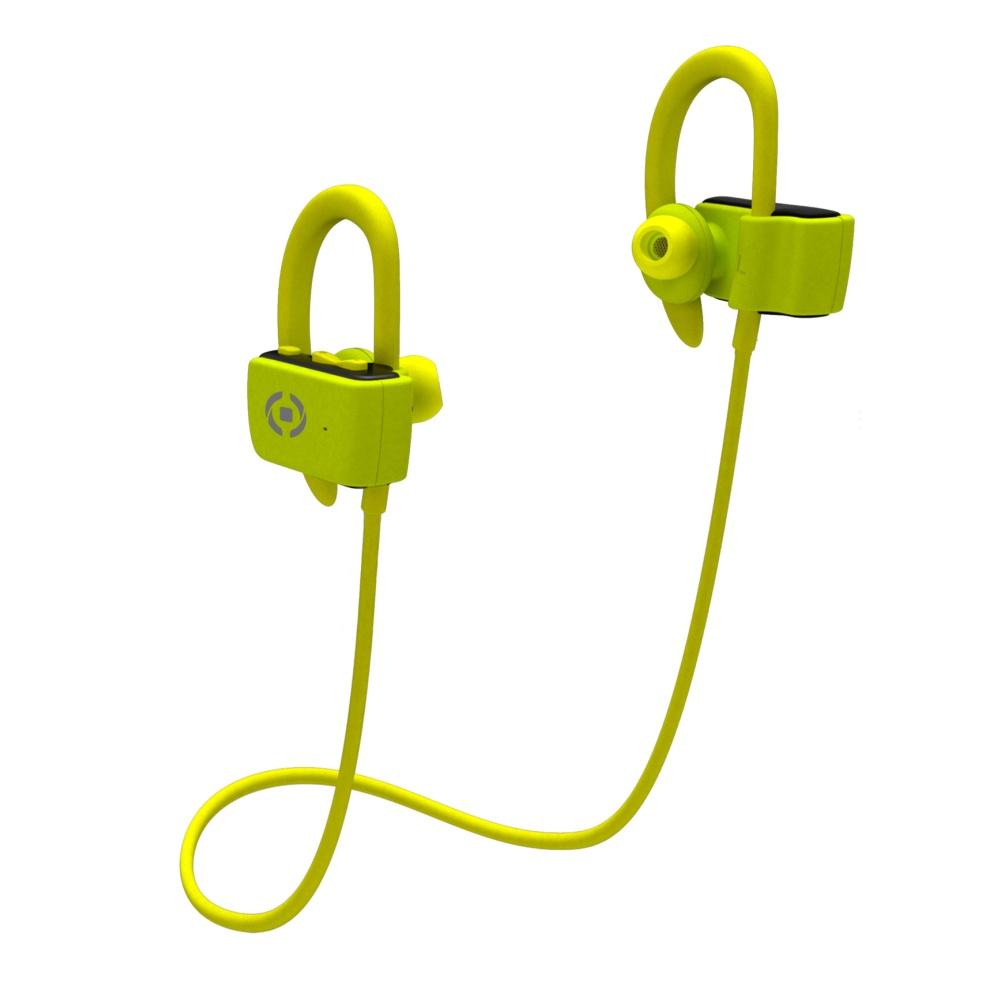 Sportovní sluchátka CELLY BHSPORTPRO Bluetooth yellow