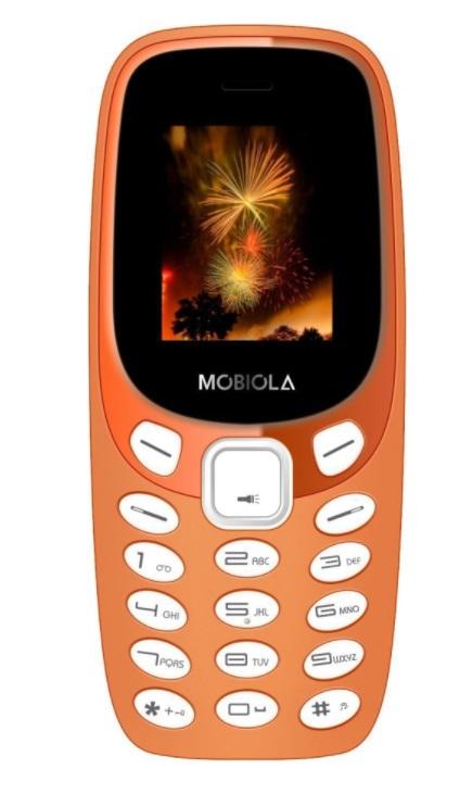 Mobilní telefon Mobiola MB3000 Orange