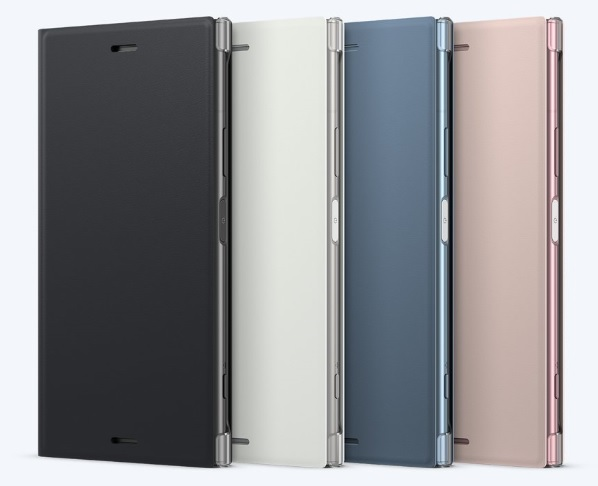 Sony Style Cover Flip SCSG50 Sony Xperia XZ1 blue