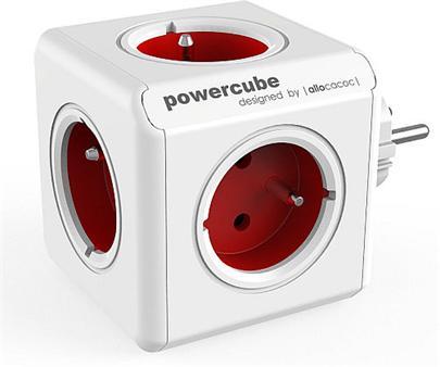 Zásuvka PowerCube ORIGINAL Red 5-ti rozbočka