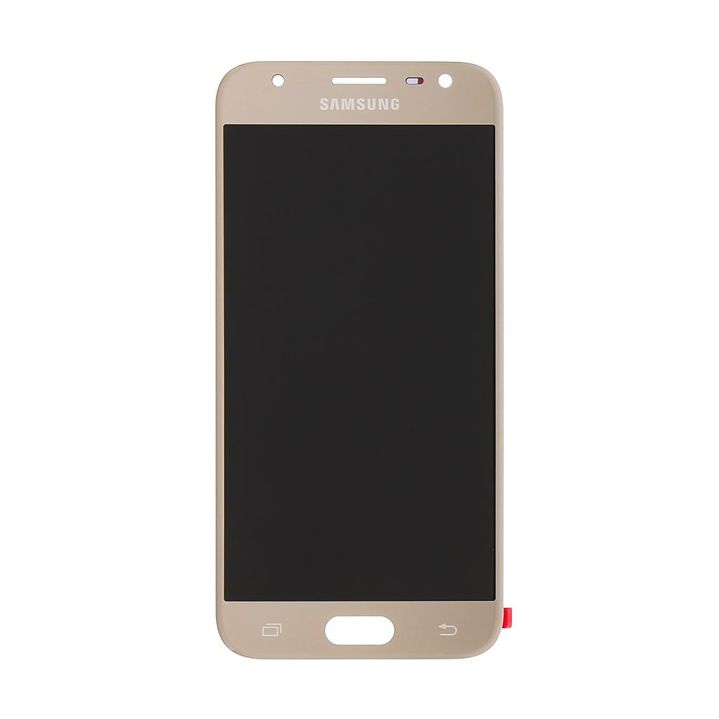 LCD + dotyk Samsung Galaxy J3 2017 Gold (Service Pack)
