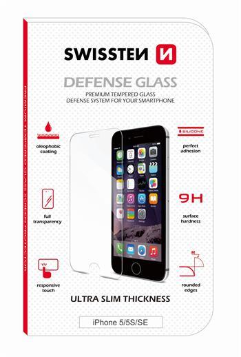 Tvrzené sklo SWISSTEN 2,5D APPLE IPHONE 6/6S RE 2,5D PŘEDNÍ + ZADNÍ