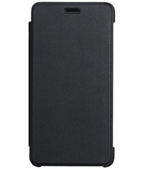 DOOGEE flipové pouzdro Doogee X10 black + tvrzené sklo