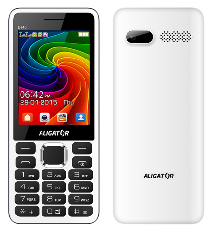 Aligator D940 Dual sim White