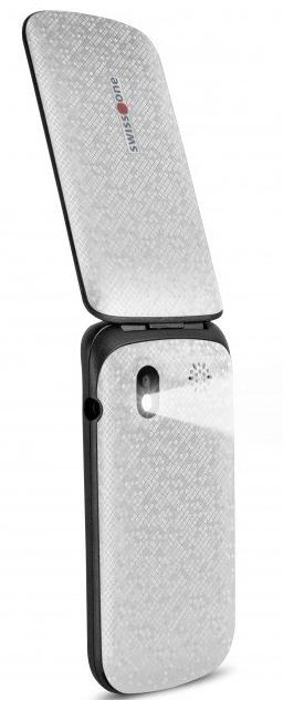Mobilní telefon Swisstone SC330 Dual SIM White
