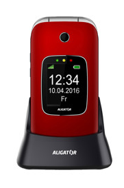 Aligator V650 Senior Red