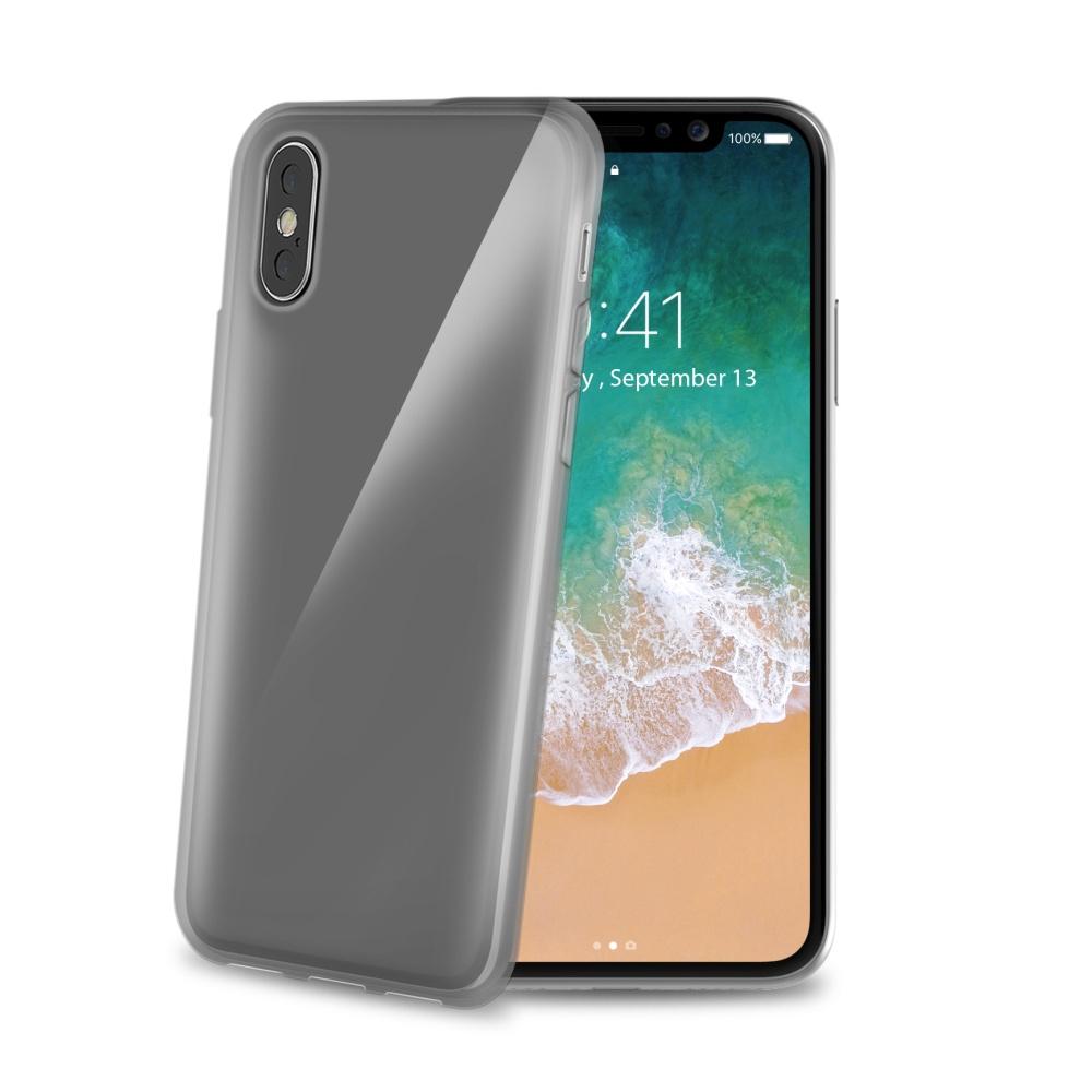 CELLY Gelskin silikonové pouzdro Apple iPhone X, černé