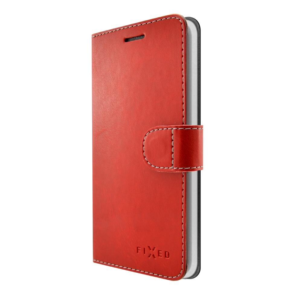 FIXED FIT flipové pouzdro pro Huawei P9 Lite Mini red