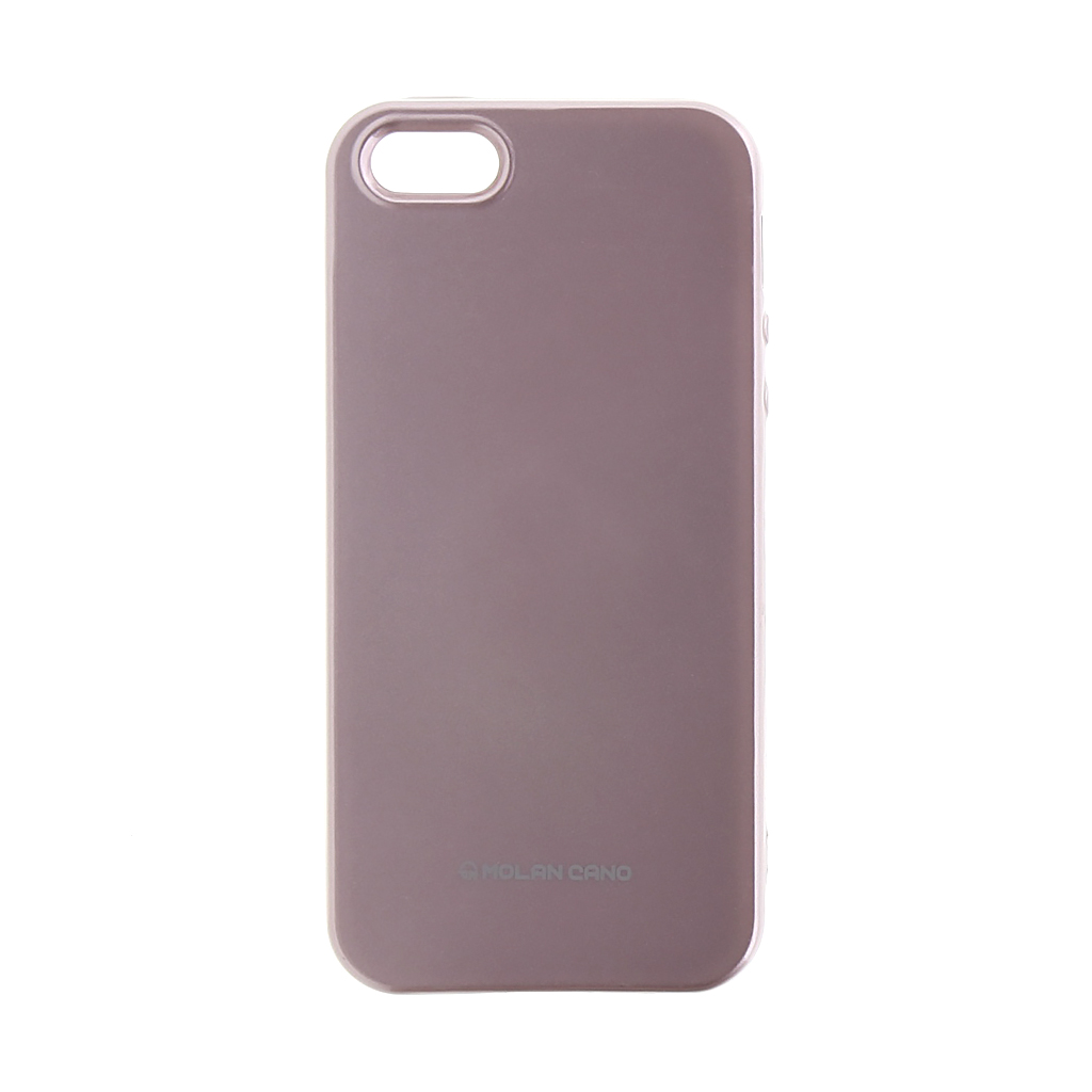 Molan Cano Jelly kryt Apple iPhone 5/5S/SE Rose Gold