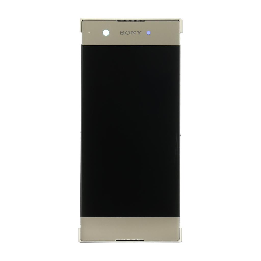 LCD + dotyk + přední kryt pro Sony Xperia XA1 gold (Service Pack)