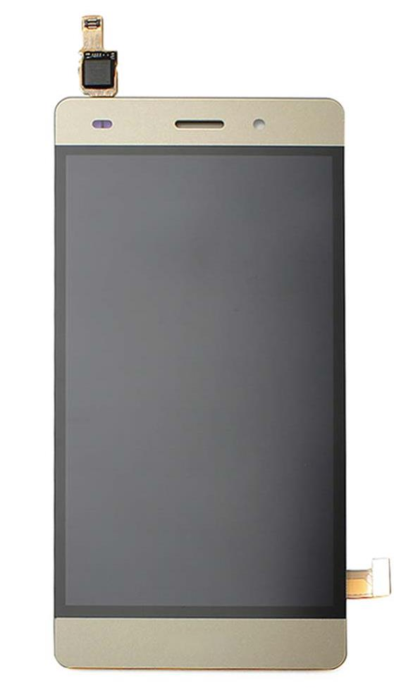 LCD + dotyková deska pro Huawei P8 Lite + přední kryt gold