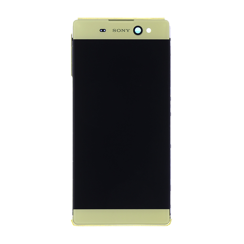 LCD + dotyk + kompletní kryt pro Sony Xperia XA Ultra (Service Pack) gold