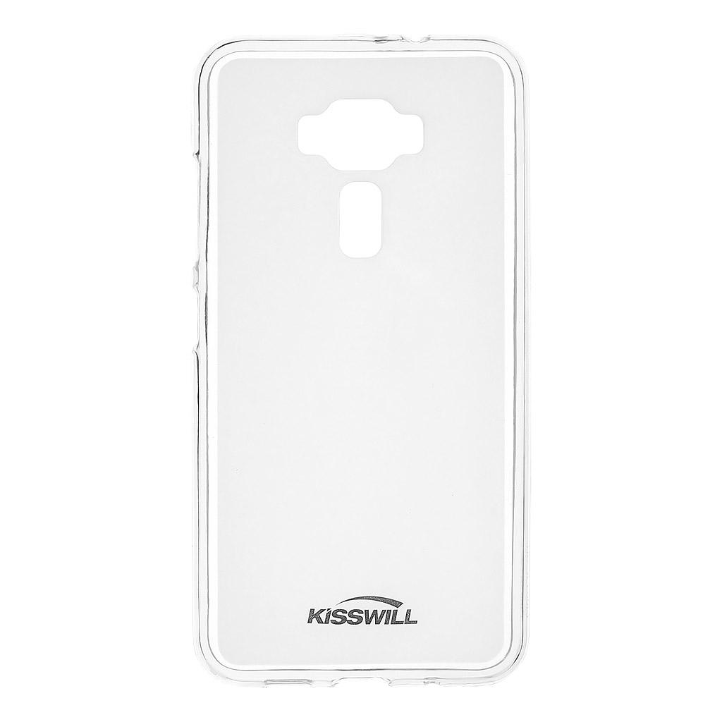 Silikonové pouzdro Kisswill pro Asus Zenfone 4 Max ZC554KL bezbarvé